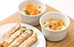 Recipes for eggs smoked salmon