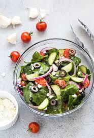 Recipes for Greek salad
