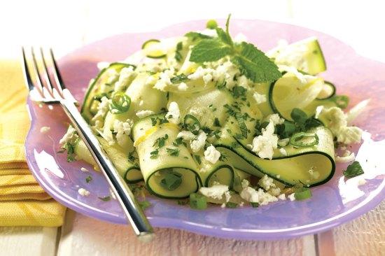 Recipes for zucchini salad