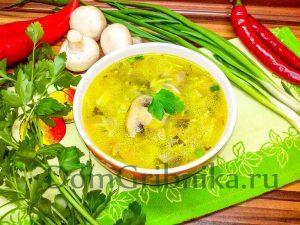 Gotuj Zupe Grzybowa Z Makaronem Zupa Grzybowa Z Pieczarkami I