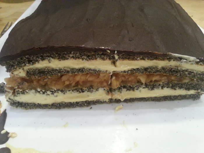 Paleo süti recept - almás mákos