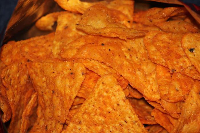 Tortilla chips recept