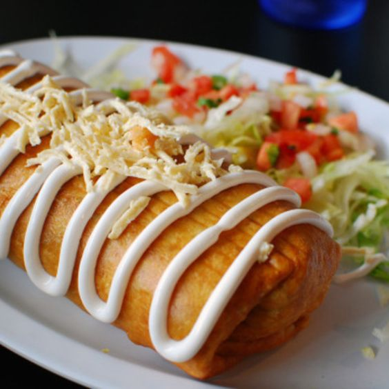 Chimichanga recept