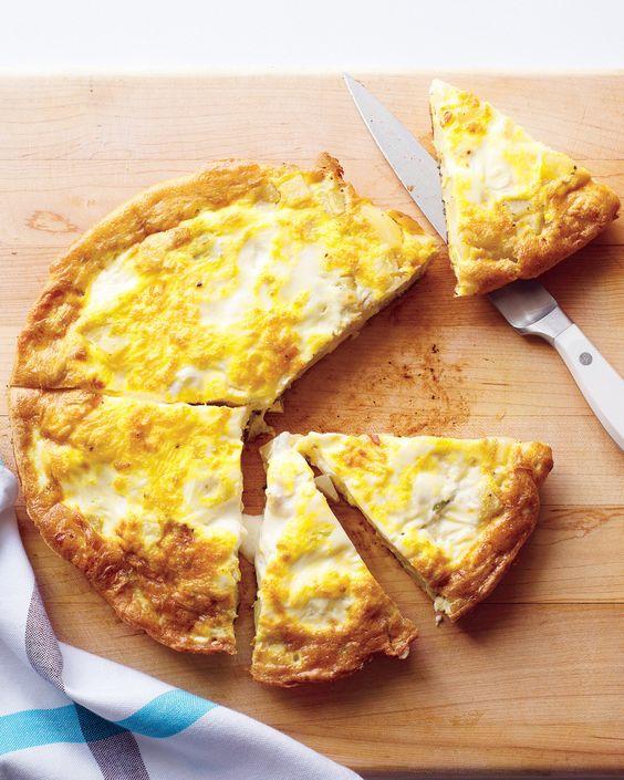 Frittata - tojáslepény - recept