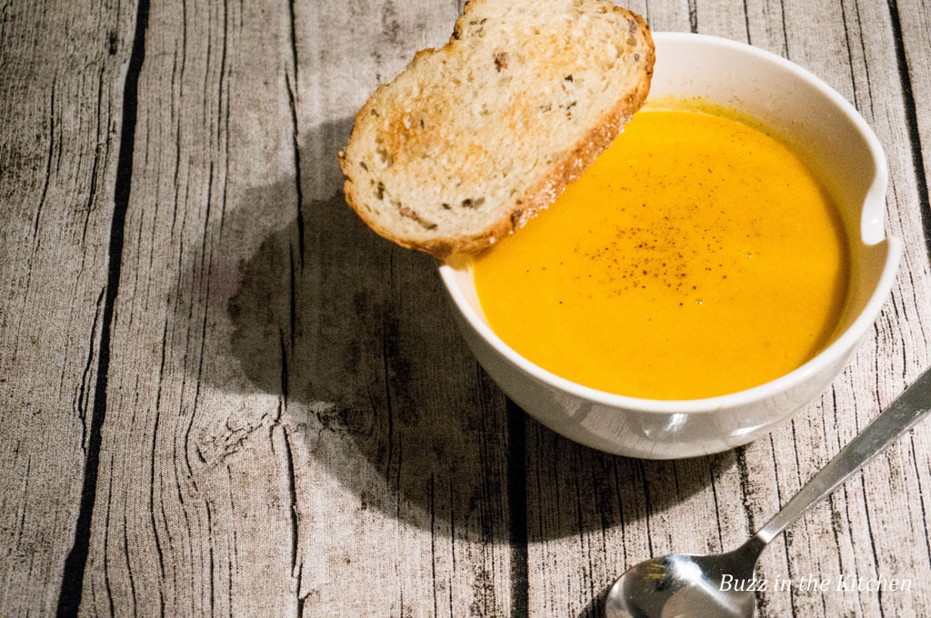 Pompoen Curry Soep