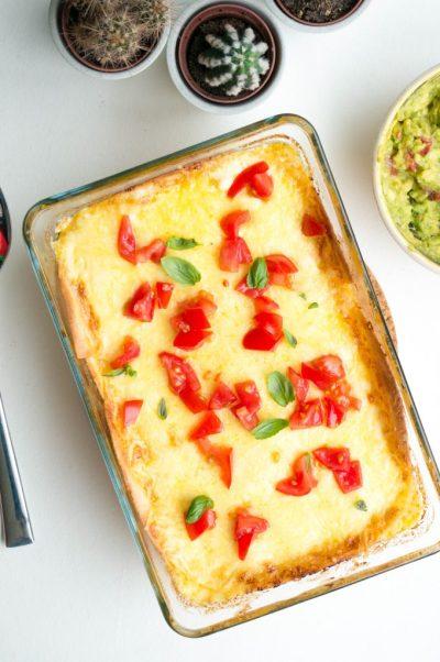 Mexicaanse Lasagna ovenschotel   Buzz in the Kitchen