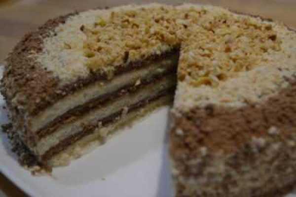 Торт Мишка сметанный