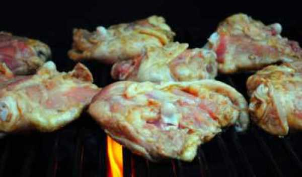 Рецепт Рис с курицей на сковороде