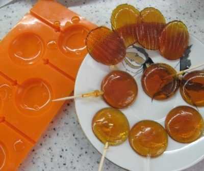 десерт леденцы домашние быстро и легко
