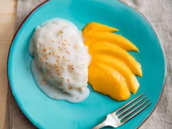 Рис с манго на пару в мультиварке