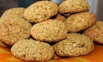 Простой рецепт овсяных печений