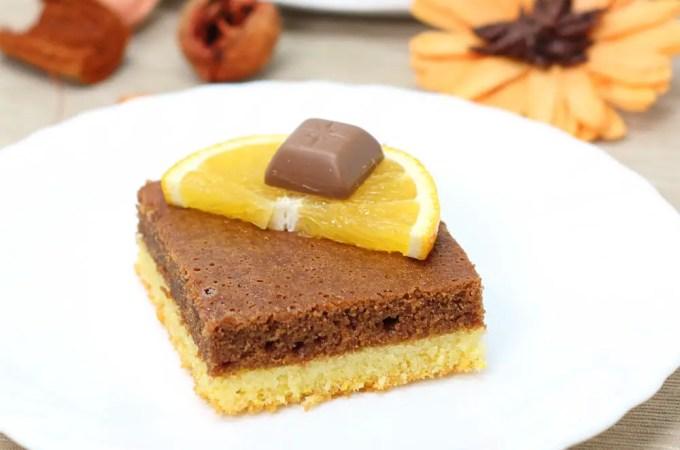 Jednostavni kolač s narančom i čokoladom