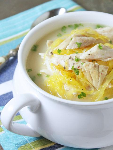 Куриный суп с лимоном