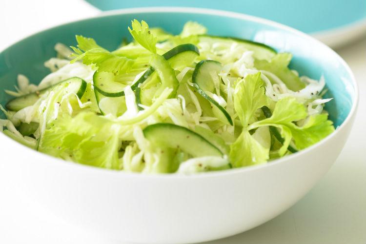 Салат из капусты огурца с фото
