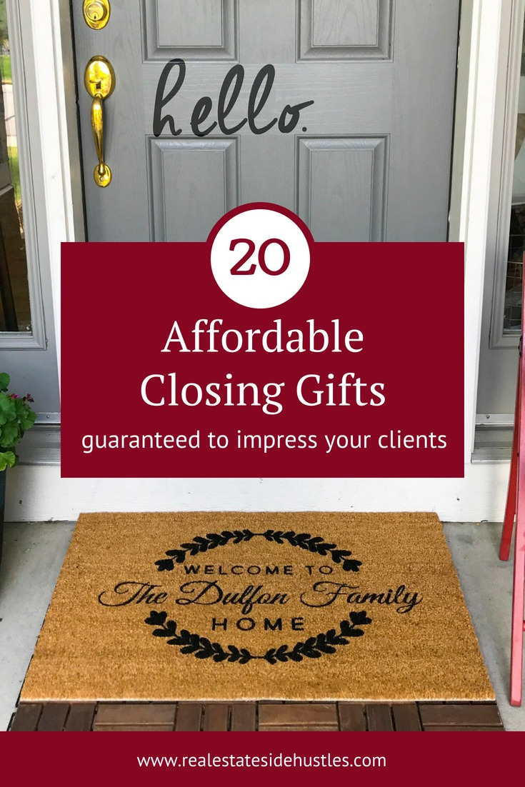 20 affordable closing gifts guaranteed to impress your clientsreal