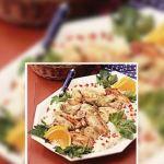 Pollo con alcachofas y limón