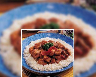 Pollo Rápido Dulce y Picante