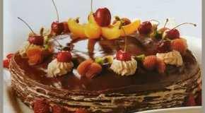 Torta de hoaldre de chocolate