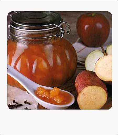 mermelada de manzana y batata