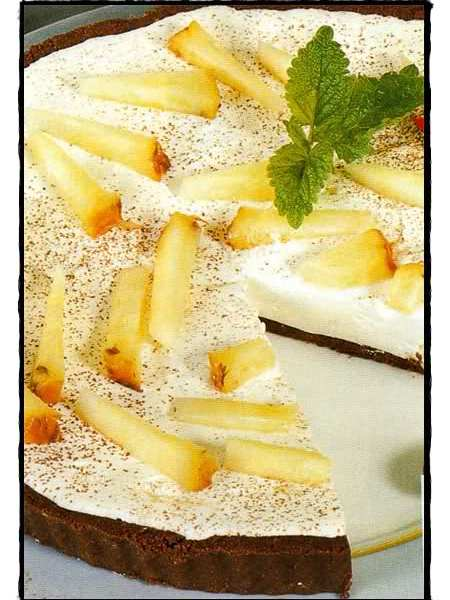 tarta de ananá
