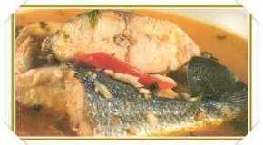 Pescado en caldo de mojo