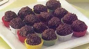 Las trufas, una opción rica de chocolate