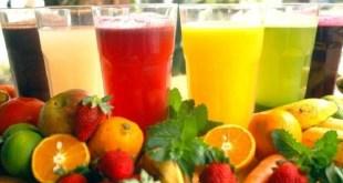 Frescos naturales de frutas