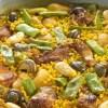 Receta de Paella tradicional Valenciana