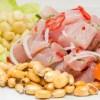 Ceviche de pescado, plato típico peruano