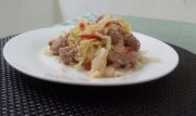 receta repollo con chorizo mundochapin guatemala - Repollo con Chorizo