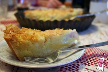Tarta de Almendras y Peras Caramelizadas
