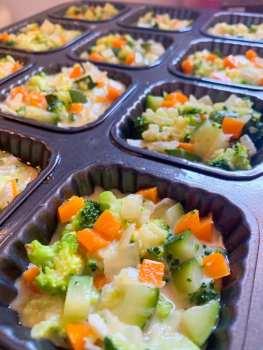 Mini terrinas de verduras