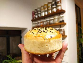 Pan de Hamburguesas - Receta de @GuerrilleroCulinario