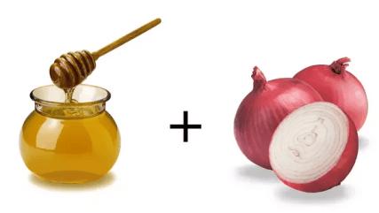 miel y cebolla