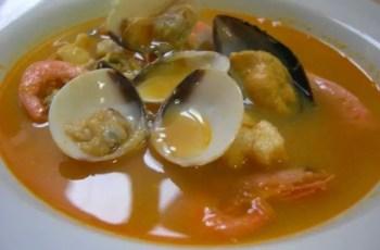 sopa de marisco 2 - Sopa de marisco