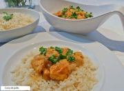 pollo al curry1 - Muslos de pollo al curry en olla JRD