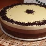 tarta tres chocolates - Recetario (A-Z)