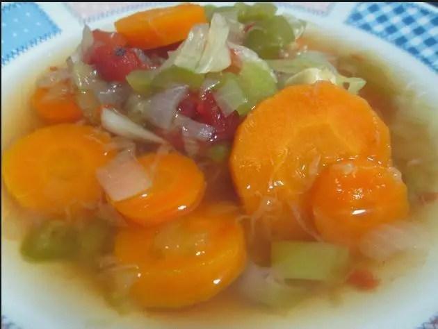 sopa quema grasa1 - Patatas con chorizo o a la riojana