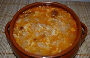 sopa de ajo castellana - Sopas con Thermomix