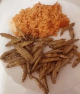 boquerones fritos - Pescados y mariscos con Thermomix