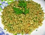 pan rallado aromático y húmedo - Paté de marisco con Thermomix