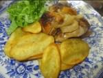 pollo asado al horno - Ensaladilla rusa express