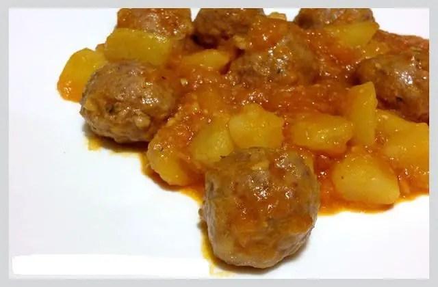 albondigas en salsa - Albóndigas en salsa Thermomix