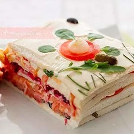 pastel de salmón y atún - Bacalao con tomate con Thermomix