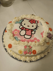 tarta Hello Kitty III - Tartas y Bizcochos con Thermomix