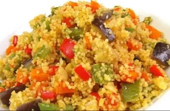 cuscús - Reciclaje de verduras con cuscus