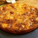Pastel o tarta salada de calabacín en Thermomix