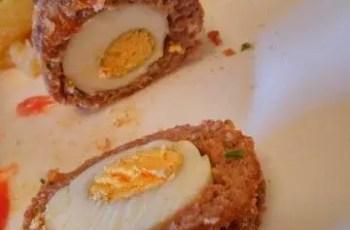 Huevos escoceses e1475094416682 - Huevos rellenos o escoceses con Thermomix