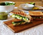 Sandwich con crema de requesón