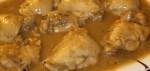 pechuga de pollo a la cerveza - Puré vegetariano de patata y puerro
